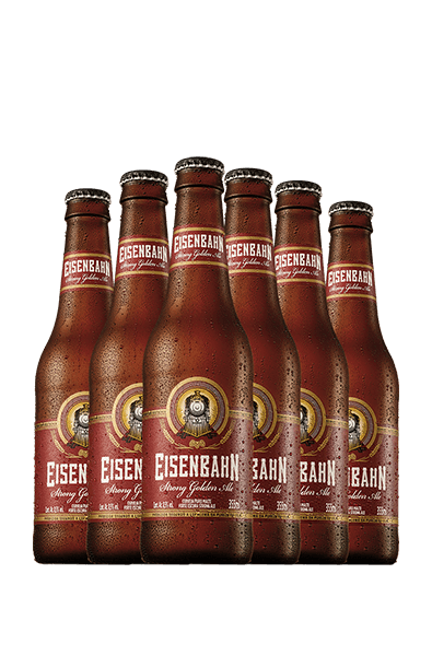 Kit Compre 5 Leve 6 Eisenbahn Strong Golden Ale 355ml